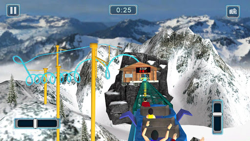 Reckless Roller Coaster Sim: Rollercoaster Games  screenshots 11