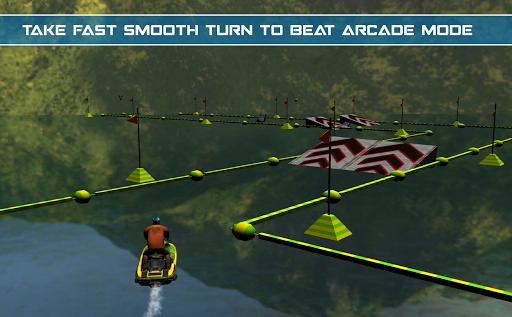 Power Boat Jet Ski Simulator: Water Surfer 3D apktram screenshots 10