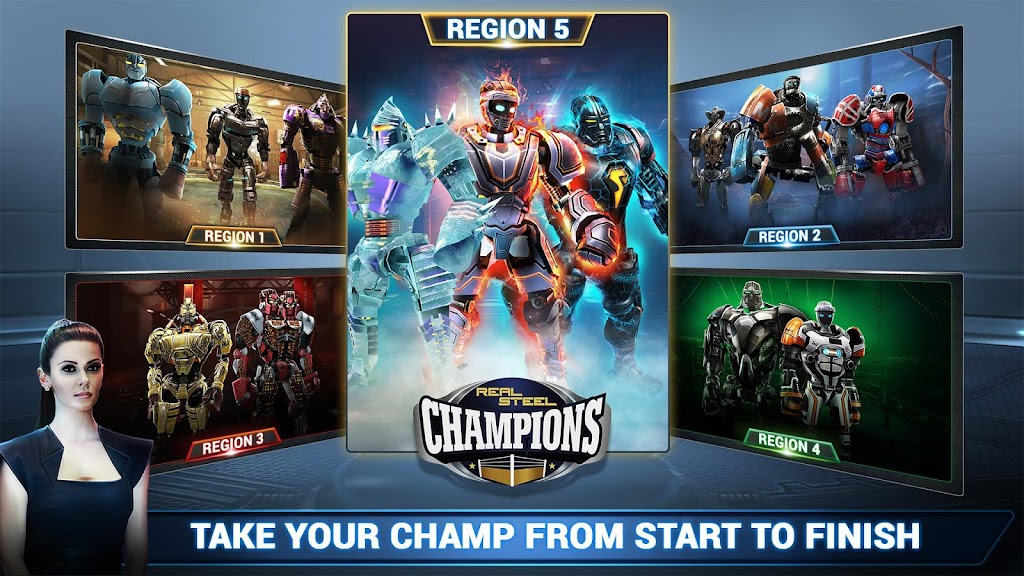 Real Steel Boxing Champions MOD poster 6