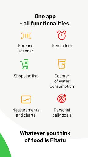 Fitatu Calorie Counter - Free Weight Loss Tracker 2.69.1 Screenshots 8