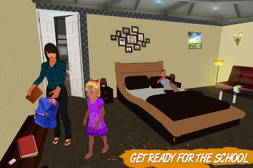 Virtual Single Mom Simulator: Family Mother Life screenshots 1