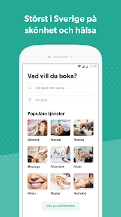 Bokadirekt: Skönhet & Hälsa 1.7.0 screenshots 1