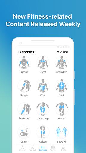 JEFIT Workout Tracker, Weight Lifting, Gym Log App 10.80 Screenshots 6