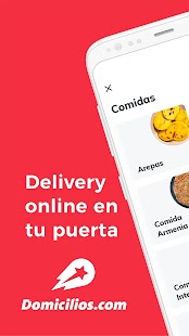 Domicilios.com - Delivery App Screenshot