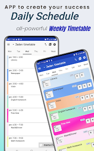 Daily Schedule - easy timetable, simple planner 1.63