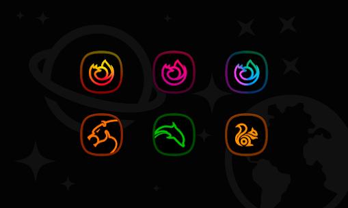 Horux Black APK- Icon Pack (PAID) Download Latest Version 4