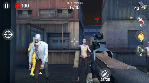 Dead Fire: Zombie shooting apktram screenshots 1