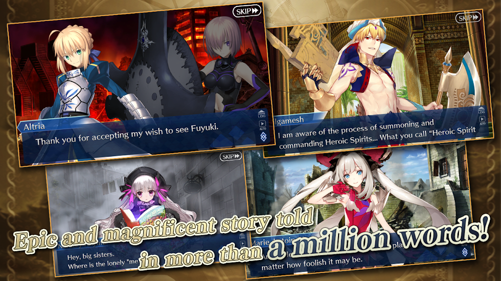 Fate/Grand Order (English) – Apps on Google Play poster 1