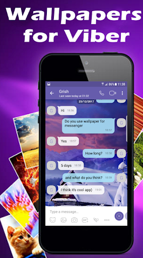 Wallpapers for Viber Messenger and Chat 1.03 Screenshots 3
