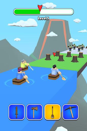 Roblock Transform Run - Epic Craft Race apkpoly screenshots 11