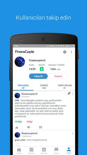 FinansCepte Du00f6viz & Altu0131n Kurlaru0131 - Borsa BitCoin 5.6.7 Screenshots 9