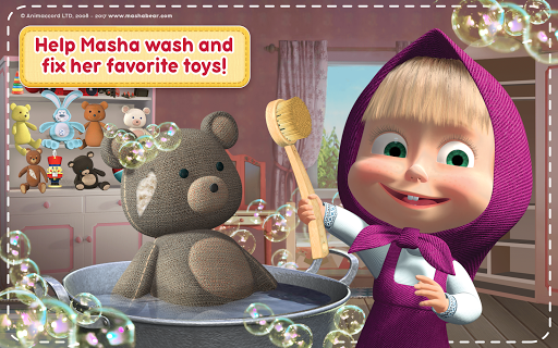 Masha and the Bear: House Cleaning Games for Girls 2.0.0 screenshots 14