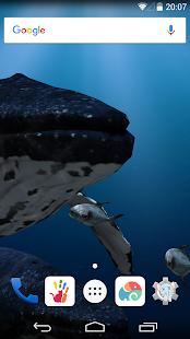 3D Sea Fish Live Wallpaper HD