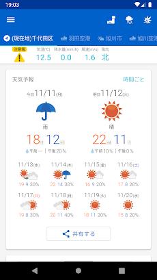 tenki.jp 日本気象協会の天気予報専門アプリのおすすめ画像5