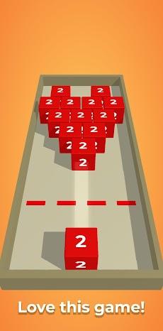 チェーンキューブ:2048 3Dマージゲームのおすすめ画像3