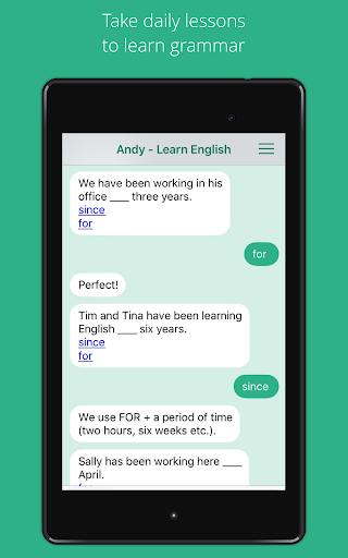 Andy - English Speaking Bot 2.8.2 Screenshots 8