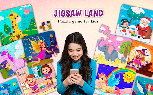 Kids Puzzles Game for Girls  Boys Apk Download 2021 1