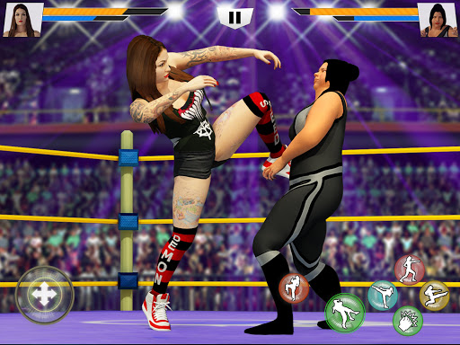 Bad Girls Wrestling Rumble: Women Fighting Games apkdebit screenshots 12