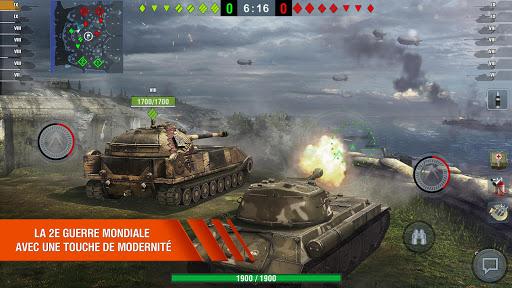 Code Triche World of Tanks Blitz 3D online  PVP jeu de tank Or illimité