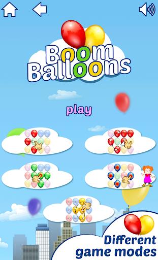 Boom Balloons - match, mark, pop and splash modavailable screenshots 3