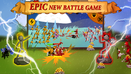 Stickman Battle 2021: Stick War Fight Apk Mod + OBB/Data for Android. 6