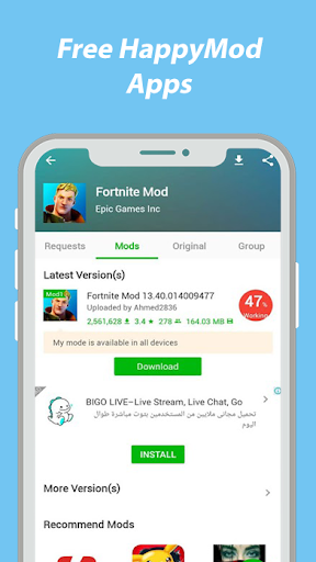 HappyMod : New Happy Apps And Guide For Happymod screen 1
