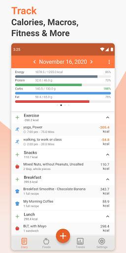 Cronometer u2013 Nutrition Tracker 3.5.4 Screenshots 1