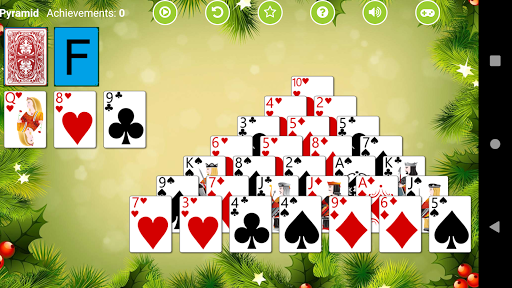 Pyramid Solitaire 3.1 screenshots 1