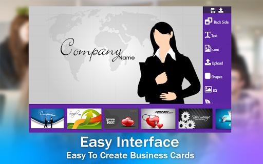 Business Card & Invitation Maker android2mod screenshots 18