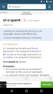 Dictionary – Merriam-Webster 2