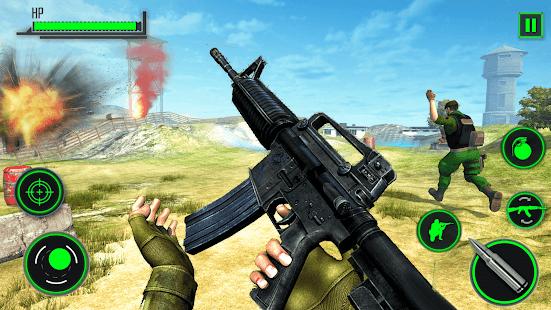 Real Encounter Attack FPS Gun Strike Shooting Game