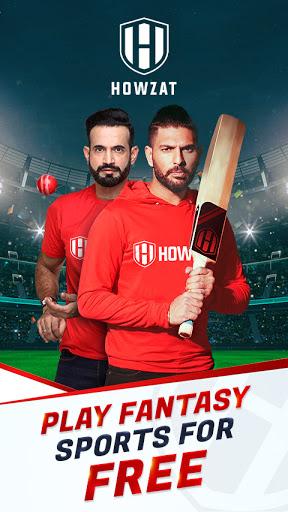 Howzat Fantasy Cricket App - Free Fantasy Games screenshots 1