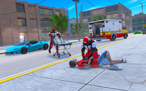 Light Speed Hero Rescue Mission: City Ambulance 1.0.4 screenshots 2