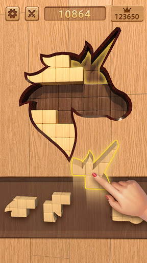 BlockPuz: Jigsaw Puzzles &Wood Block Puzzle Game  screenshots 3