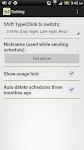 screenshot of Shift Calendar (since 2013)