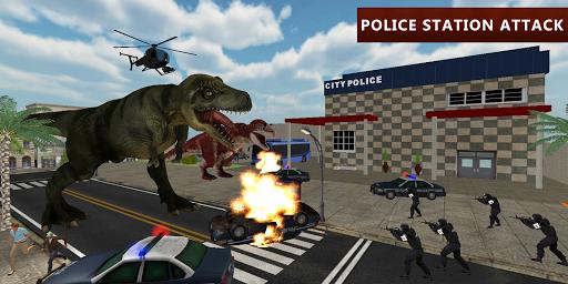 Dinosaur Simulator City Attack apkpoly screenshots 6