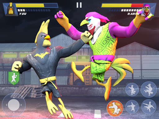 Kung Fu Animal Fighting Games: Wild Karate Fighter apkpoly screenshots 16