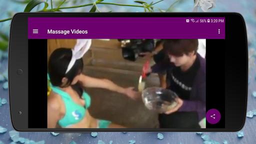 Body Massage Videos - Hot Stones and Full Body  screenshots 1