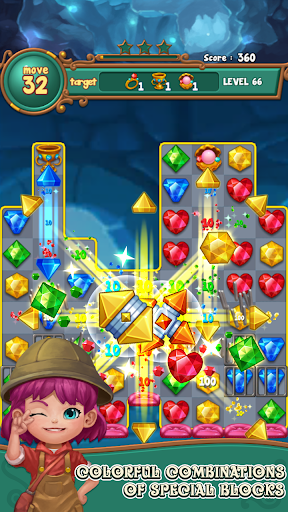 Jewels fantasy:  Easy and funny puzzle game 1.7.2 screenshots 2