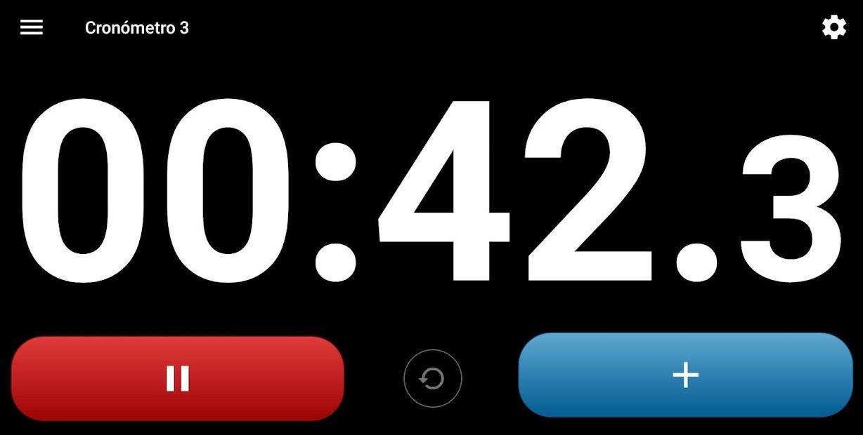 Screenshot 5 de Cronómetro con voz. para android