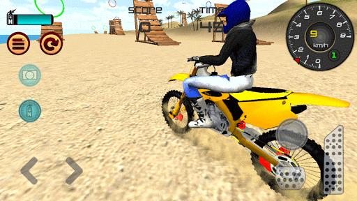 Motocross Beach Jumping 3D apkdebit screenshots 5