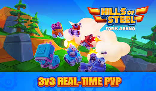 Hills of Steel: Tank Arena Mod Apk 1.0.5 (Infinite Money) 5