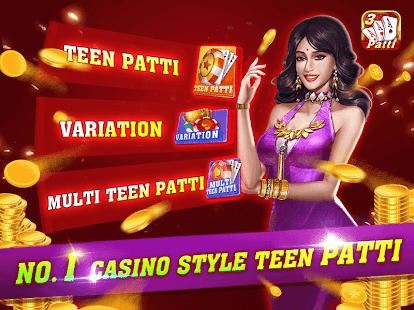 Teen Patti One u2013 No.1 Casino Style Teen patti 1.6.3 Screenshots 1