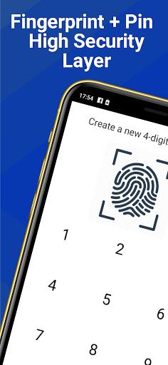 Gallery Lock - Photo & Video Vault App Fingerprint apktram screenshots 1