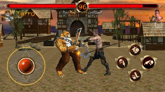 Terra Fighter 2 - Fighting Games screenshots 7