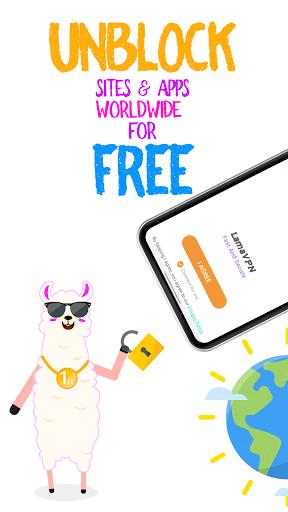 Llama VPN - Free VPN Unblock Proxy Master Shoora screenshots 1