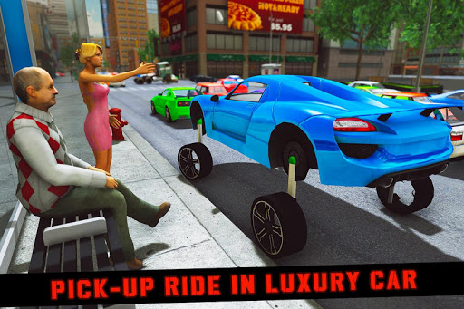 Elevated Car Racing Speed Driving Parking Game  screenshots 4