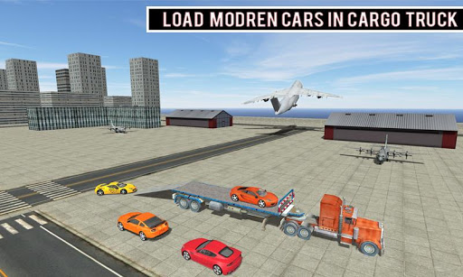 modern car transporter plane screenshot 2