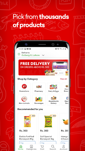 Airlift Express - Grocery & Pharmacy Delivery apktram screenshots 2