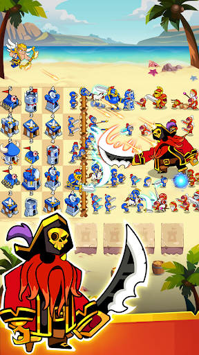 Save The Kingdom: Merge Towers  screenshots 10